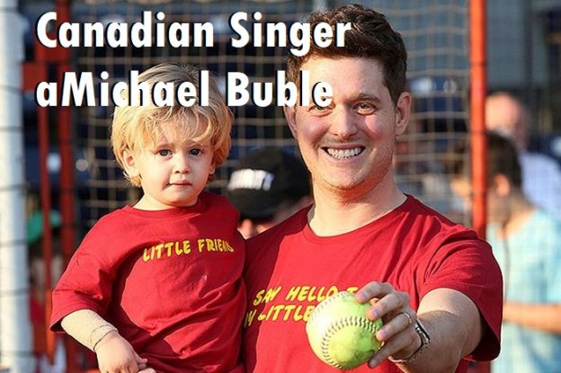 Canadian Singer Michael Buble