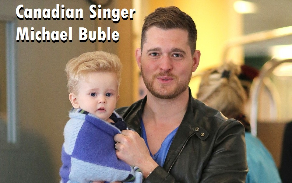 Canadian Singer Michael Buble